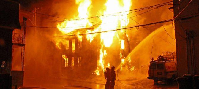 Incendie majeur au centre-ville de St-Raymond