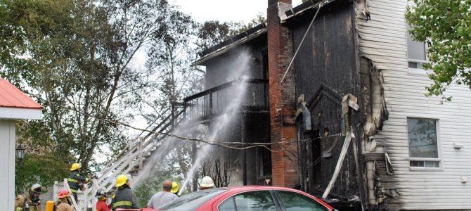 Incendie de résidence à St-Marc-des-Carrières