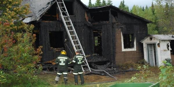 St-Basile-Incendie de résidence