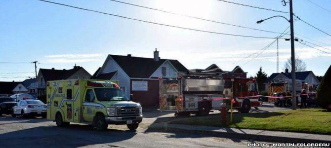 Début d'incendie dans une résidence pour personnes âgées de St-Basile