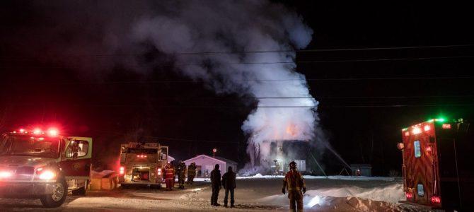 Incendie de résidence à St-Raymond