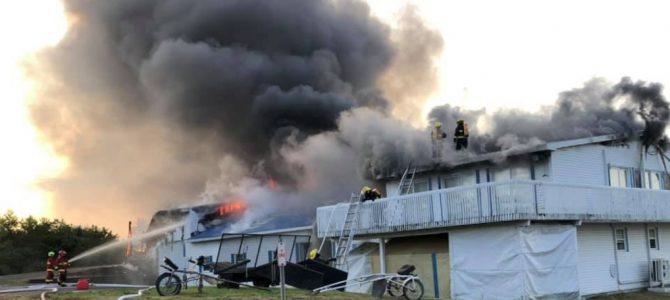 Incendie d'une écurie à Deschambault-Grondines