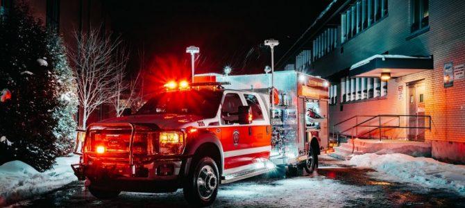 Présentation officielle du camion minipompe du Service des incendies de Saint-Raymond