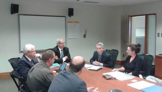 Le Comité Rivière de St-Raymond rencontre le Ministère de la sécurité publique