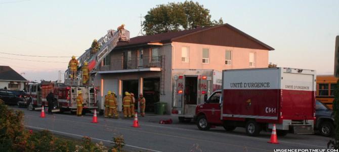 Vérification incendie à Donnacona