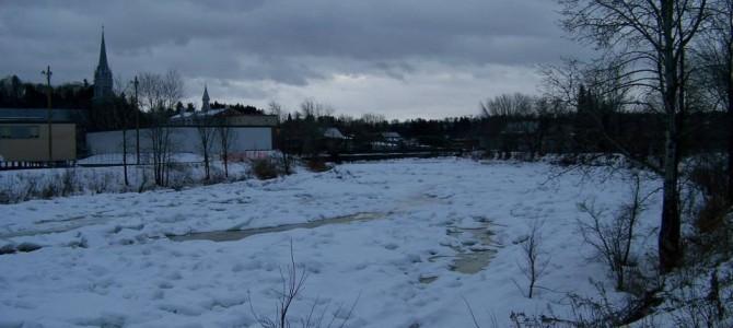 De nouvelles photos de la rivière Ste-Anne à St-Raymond