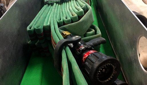 Le « St-Basile load » – Procédure de chargement du lit de tuyaux arrière