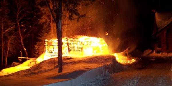St-Raymond-Incendie de garage